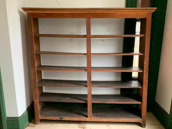 Very Large Primitive Bookcase, Shelving Unit