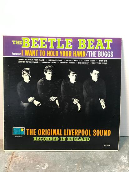 The Beetle Beat, 33 RPM Record as Pictured