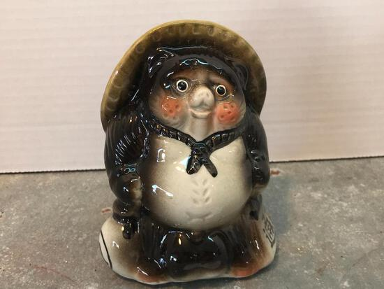 5 Inch Tall, Porcelain, Chinese Panda Figure
