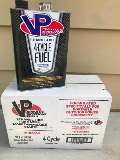 Lot of VP Racing 4-Cycle Ethanol Free Fuel. This Item is Unused - As Pictured