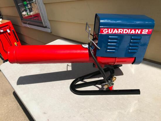 Guardian G2 Propane Cannon Pest Repeller. This Item Appears To Be Used Possibly Once or Twice