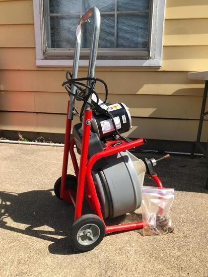 Ridgid #K-400-T2 Power Drain Cleaner. This Item has Seen Little Use and is in Working Condition