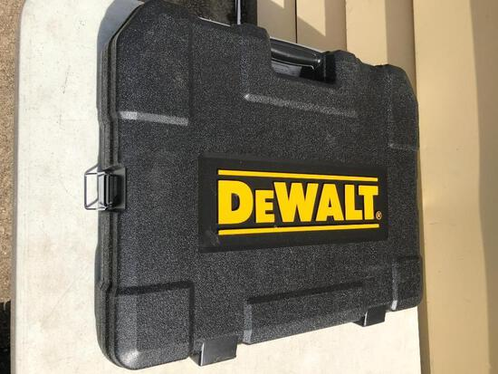 Very Large Approx. 179 Piece Plus Dewalt Tool Set with Plastic Case - As Pictured