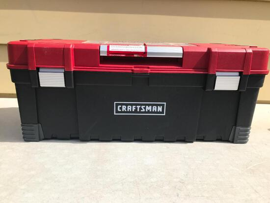 """Craftsman 26"""" Power Latch Box. This Item is 26"""" Wide x 11.3"""" Deep X 10.4"""" Tall - As Pictured"""