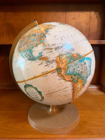 """Globe Replogole 12"""" Diameter, Has Some Marks on it, Coming a Little Loose"""