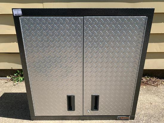 """Gladiator Garageworks Welded Steel Wall Gearbox Cabinets. This Item is 30"""" T x 30"""" W x 12"""" D"""