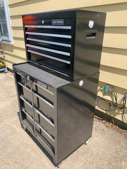 Craftsman Stacking Tool Box with Keys for Bottom Section