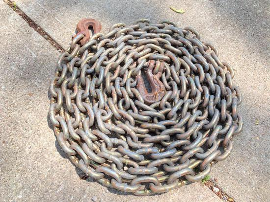 20' Tie Down Chain, Very Little Use