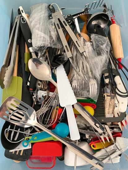 Large Lot of Misc Kitchen Utensils - As Pictured