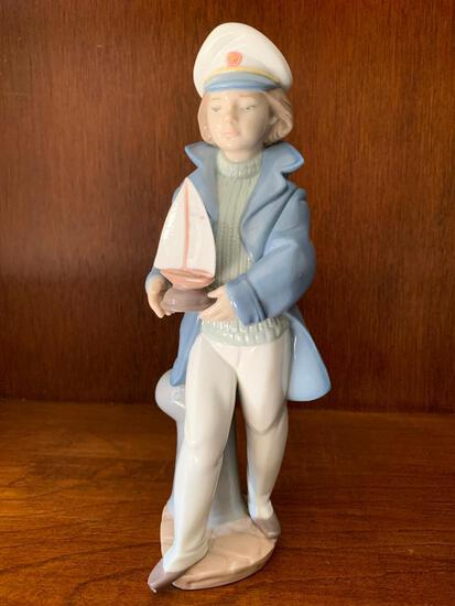 """Lladro """"Little Sailor Boy"""" with Original Box. This is 9"""" Tall"""