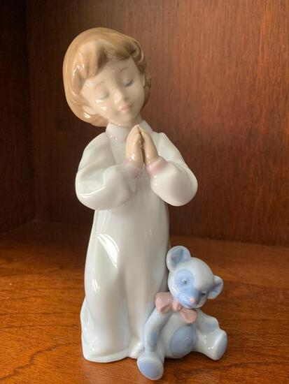 """Lladro """"Nigh Time Blessings"""" with Original Box. This is 7"""" Tall"""
