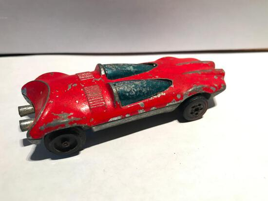 Hot Wheels 1969 Swinging Wing A Red Line As Is