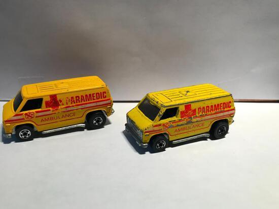 Hot Wheels Two 1974 Paramedics