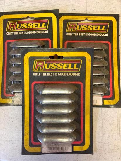 Lot of 3 Russell Product Louver Kit 5260. New in Package - As Pictured