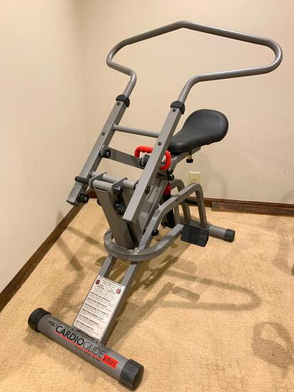 Weslo CardioGlide Plus Exercise Machine - As Pictured