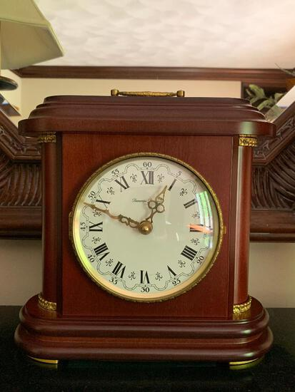 """Diamantini & Domeniconi Mantle Clock. This is 10.5"""" Tall - As Pictured"""
