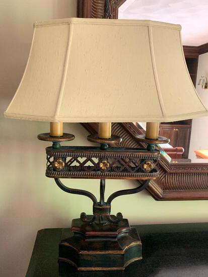 """Decorative Lamp w/Shade. This is 30"""" Tall - As Pictured"""