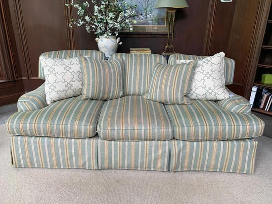 """Hickory White Sofa. This is 88"""" Long - As Pictured"""