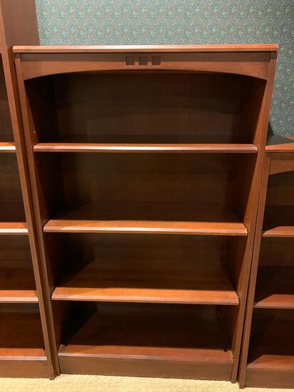 """Ethan Allen Solid Wood Bookcase (2 of 3). This is 50.5"""" Tall x 30"""" Wide x 11.5"""" Deep - As Pictured"""