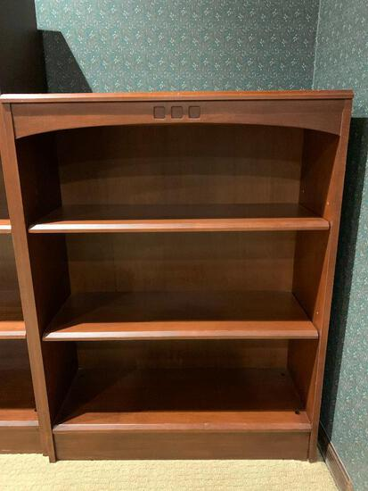 """Ethan Allen Solid Wood Bookcase (3 of 3). This is 39"""" Tall x 30"""" Wide x 11.5"""" Deep - As Pictured"""
