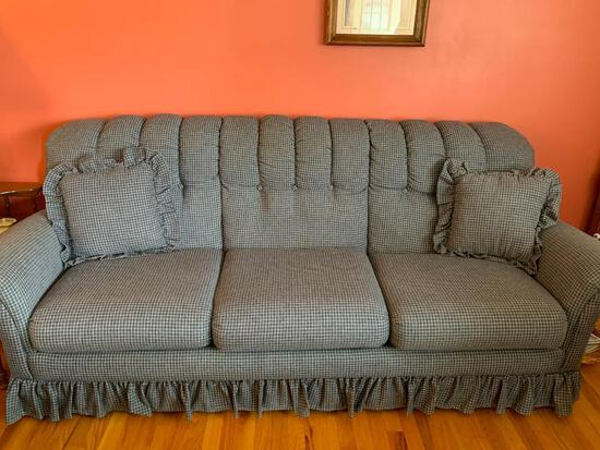 """Living Room Sofa. This is 88"""" Long and is Gently Used - As Pictured"""