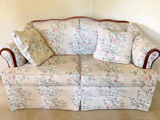"""Love Seat. This is 29"""" Tall x 57"""" Wide x 23"""" Deep - As Pictured"""