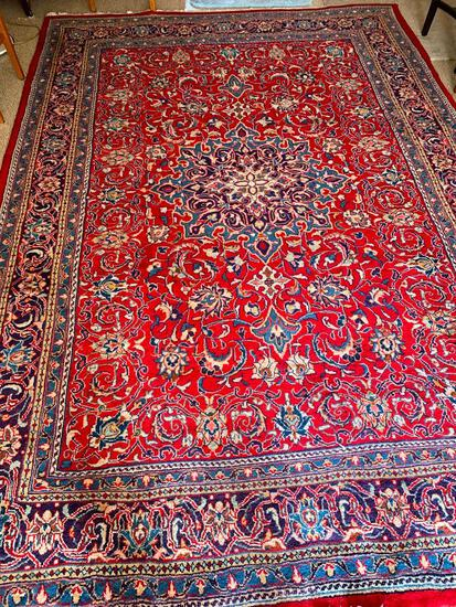 """135"""" x 95"""" Oriental Style Rug w/No Markings - As Pictured"""