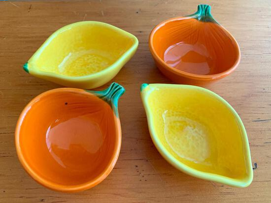 """Set of 4 Sauce Bowls. They are 1.5"""" Tall - As Pictured"""