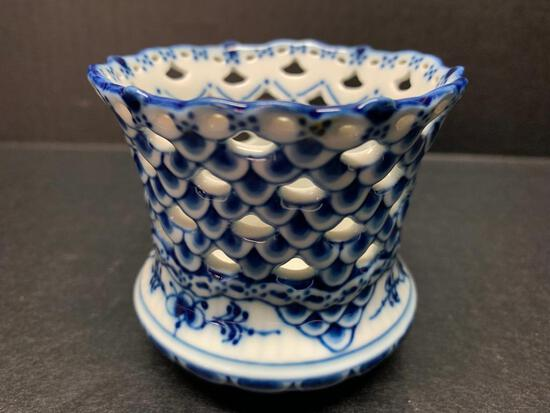 """Royal Copenhagen Porcelain Votive . This is 2.75"""" Tall - As Pictured"""