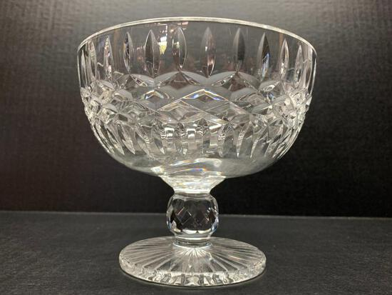 """Waterford Crystal Footed Bowl. This is 5"""" Tall - As Pictured"""