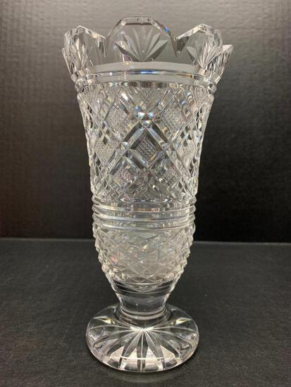 """Waterford Crystal Vase. This is 7"""" Tall - As Pictured"""