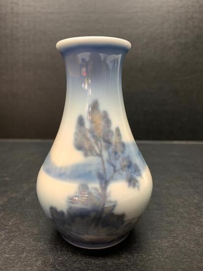 """Royal Copenhagen Vase Marked 37. This is 3.75"""" Tall - As Pictured"""