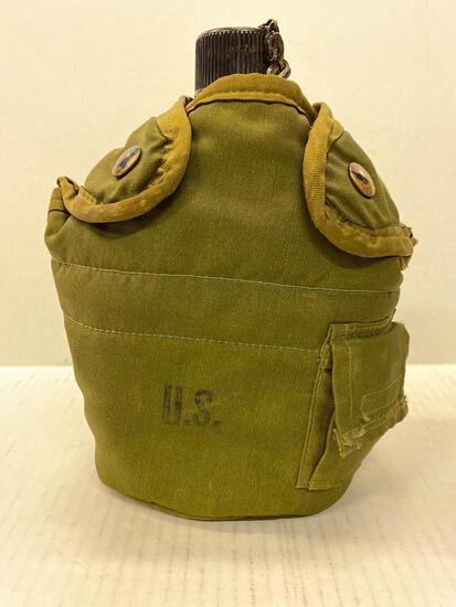 """US Military Canteen. This is 8"""" Tall - As Pictured"""