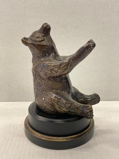 """Bear Statue. This is 7.5"""" Tall - As Pictured"""