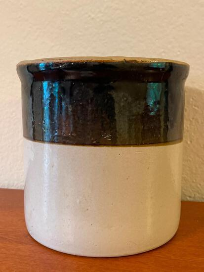 """Pottery Crock. This is 7.5"""" T x 7.5"""" in Diameter - As Pictured"""