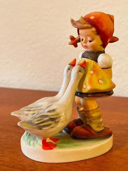 """Vintage Hummel """"Goose Girl"""". This is Signed by the Artist and is 4.5"""" Tall - As Pictured"""