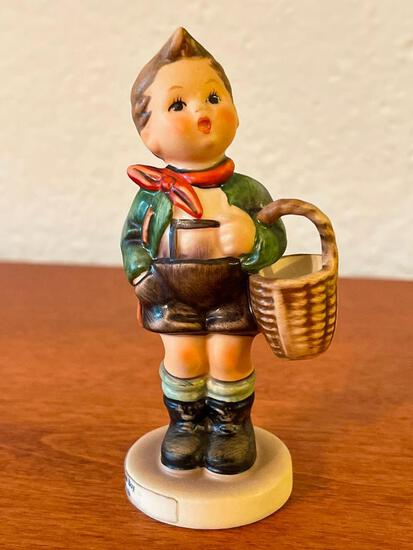 """Vintage Hummel """"Village Boy"""". This is Signed by the Artist and is 4"""" Tall - As Pictured"""
