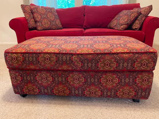 """Matching Ottoman to Sofa. This is 18"""" T x 47"""" L x 26"""" D - As Pictured"""