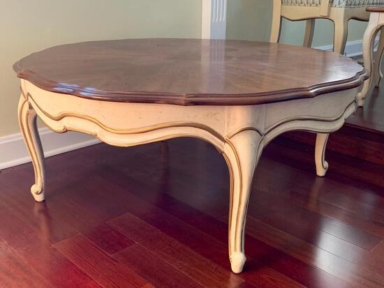 """Round Coffee Table by Thomasville. This is 17"""" T x 39"""" in Diameter - As Pictured"""