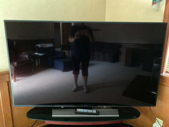 """60"""" Samsung UHD TV Model #UN60HU8550FXZA.This is a working smart TV, We tested it in the warehouse,"""