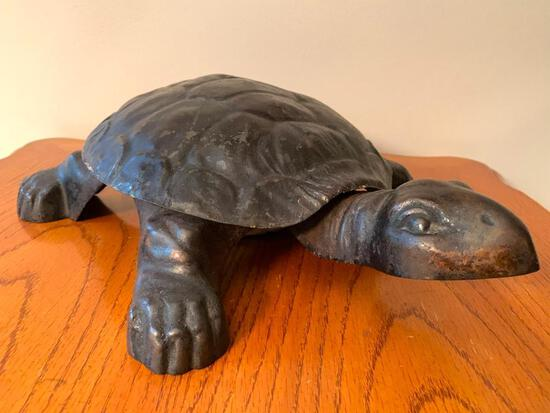 """12"""" x 14"""" Metal Turtle Spittoons.- As Pictured"""