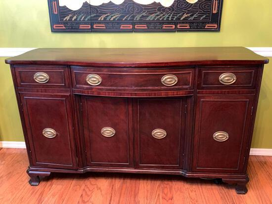"""Buffet Server. This is 35"""" T x 60"""" W x 20"""" D - As Pictured"""