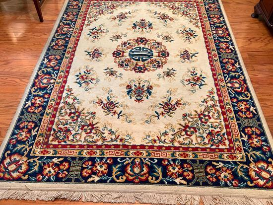 """Oriental Rug by Arak . This is 67"""" x 95"""" - As Pictured"""