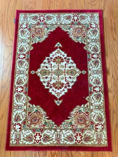 """Oriental Style Accent Rug. This is 55"""" x 36"""" - As Pictured"""