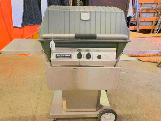 """Broilmaster Premium Rolling Gas Grill. This is 46"""" T x 54"""" W - As Pictured"""