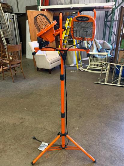 """Dual Power Light for Garage. This is 59"""" Tall"""