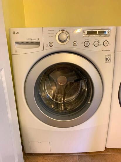 LG Inverter Direct Drive Front Load Washer Model #WM2250CW. Working in the Home. Like New