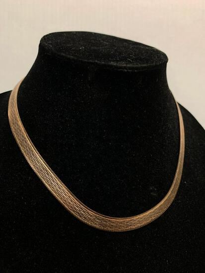 """18"""" 925 Silver Chain. No Weight Given"""