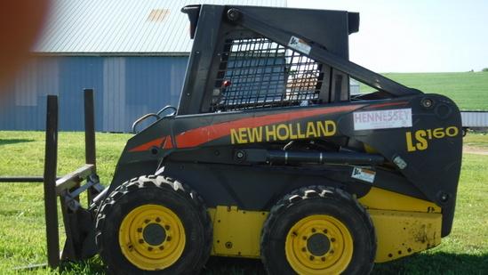 NH LS160 Skid Steer