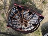 Two (2) Steel Wheels